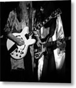 Rush 77 #52 Enhanced Bw Metal Print