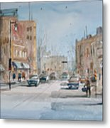 Rush Hour - Fond Du Lac Metal Print