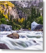 Rush Of The Merced Metal Print