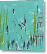 Rushes And Reeds Metal Print