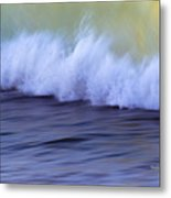 Rushing To Shore Metal Print