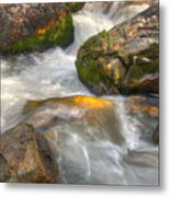 Rushing Water 1 Metal Print