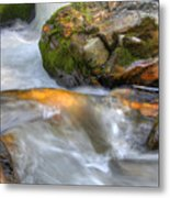 Rushing Water 2 Metal Print