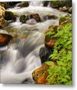 Rushing Water 3 Metal Print
