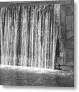 Rushing Waterfall Metal Print