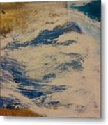 Rushing Waters Metal Print by Gregory Dallum