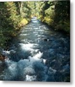 Rushing Waters Metal Print