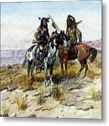 Russell Charles Marion On The Prowl Metal Print