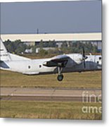 Russian Air Force An-26 Taking Metal Print