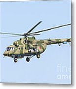 Russian Air Force Mi-171sh Helicopter Metal Print