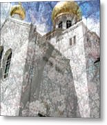 russian church of the Protection of the Holy Virgin Australia Metal Print
