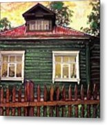 Russian House 2 Metal Print