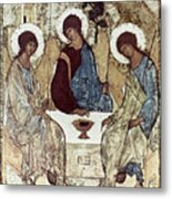 Russian Icons: The Trinity Metal Print