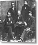 Russian Marxists, 1897 Metal Print