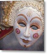 Russian Mask 4 Metal Print