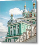 Russian Orthodox Cathedral. Metal Print