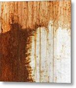 Rust 05 Metal Print