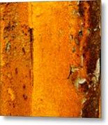 Rust Abstract 2 Metal Print