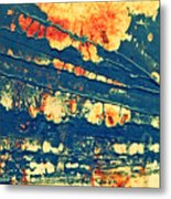 Rust And Lace Metal Print