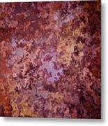 Rust Autumn Metal Print