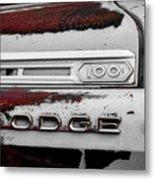 Rust Dodge 6 Selective Color Metal Print