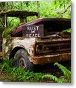 Rust In Peace 2 Metal Print