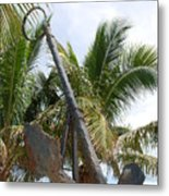 Rusted Anchor Metal Print
