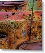 Rusted Beauty Metal Print