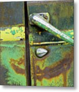 Rusted Series 4 Metal Print