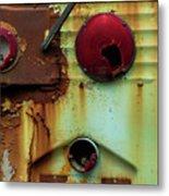 Rusted Series 5 Metal Print