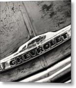 Rustic Chevrolet Metal Print