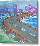 Rustic-city Metal Print
