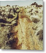Rustic Country Trails Metal Print