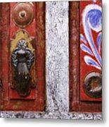 Rustic Door Metal Print by Jeremy Woodhouse