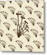 Rustic Hammer Pattern Metal Print