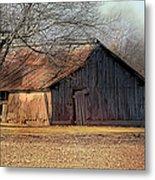 Rustic Midwest Barn Metal Print