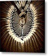Rustic Regalia Metal Print