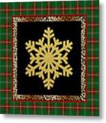 Rustic Snowflake-jp3692 Metal Print