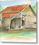 Rustic Southern Barn Metal Print