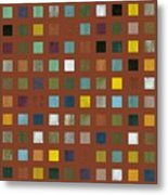 Rustic Wooden Abstract Vll Metal Print