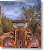 Rusting In Robson's Mining World Metal Print