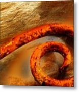 Rusty And Dusty Metal Print