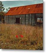 Rusty Barn Metal Print