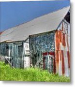 Rusty Barn Metal Print