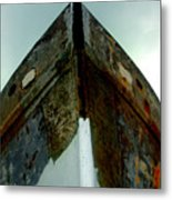 Rusty Bow Metal Print