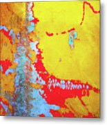 Rusty Expressions Metal Print