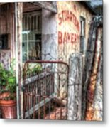 Rusty Gate. Metal Print by Ian  Ramsay