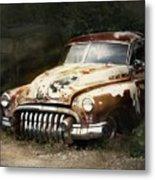 Rusty Ghost Metal Print