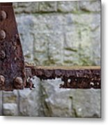 Rusty Girder Metal Print