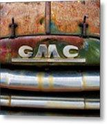 Rusty Gmc Truck Metal Print